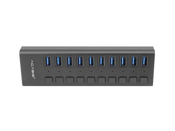 USB hub Acasis P-10 (Черный), фото 2