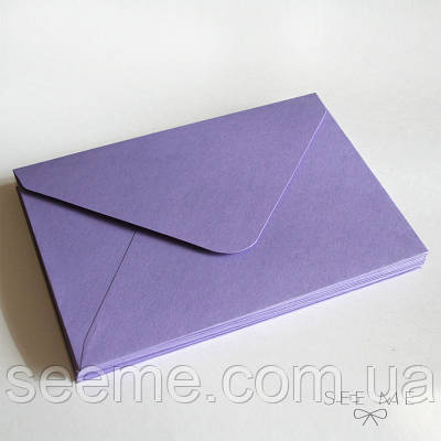 Конверт 205x140 мм, колір лавандовий (lavender)