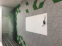 Мягкая плитка для стен - Решение для дома и офиса