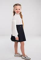 Блуза школьная с длинным рукавом Жаклин тм Suzie Размеры 116- 128