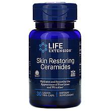 """Керамиды для восстановления кожи Life Extension """"Skin Restoring Ceramides"""" 350 мг (30 капсул)"""