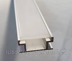 Алюминиевый профиль для светодиодной ленты НП19 х 8