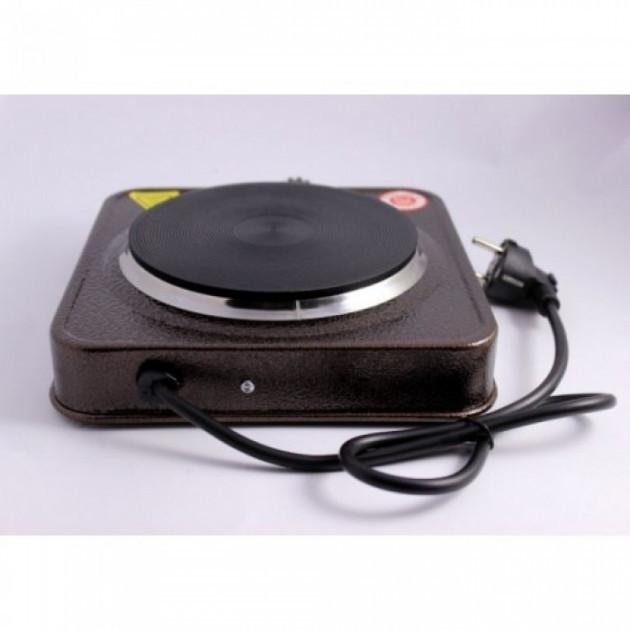 Электроплита Domotec MS-5821 1000Вт | Плита настольная дисковая