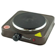 Электроплита Domotec MS-5821 1000Вт | Плита настольная дисковая, фото 2