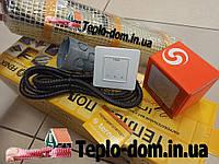 Нагревательный мат для теплой квартиры In-Therm 270w (1,4 м.кв.) с сенсорным регулятором Terneo S, фото 1