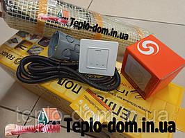 Нагревательный мат для теплой квартиры In-Therm 270w (1,4 м.кв.) с сенсорным регулятором Terneo S