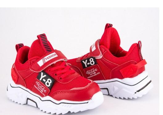 Кроссовки детские Violeta 200-118K red-black