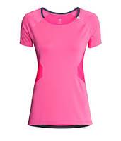 Розовая спортивная футболка H&M , фото 1