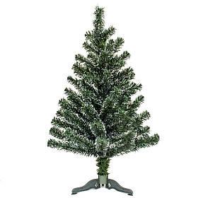 Ялинка штучна 90 см, зелено-біла (6МАГ-90)