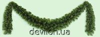 Гирлянда искусственная зеленая, густая, 540 см (МГХ-540)
