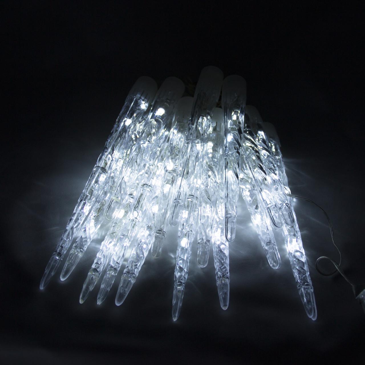 Светодиодная гирлянда Сосулька 64Л белая (040278)