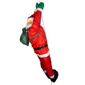 Уличный декор Фигурка Дед Мороз 120см, на шнурке 2, 2м (810016)