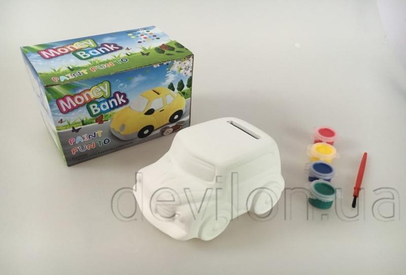 Набор творческий из керамики -Машинка- (LK06)