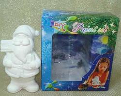 Набор для детского творчества - керамика, Дед Мороз, 6 красок (022441)