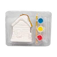 Набор для детского творчества - домик, 3 краски (020867)