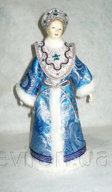 Снегурочка, 33 см, синяя, (180479-4)