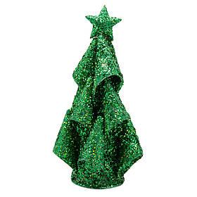 Настольная елка, 15 см, зеленый, проволока (001309-4)
