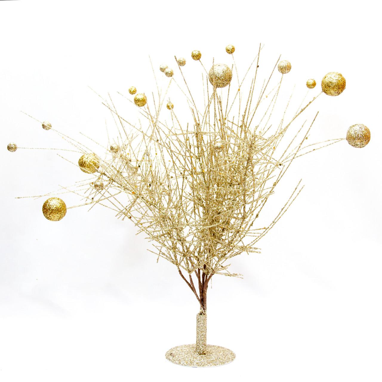 Дерево на подставке, 45см, желтый (770021-4)