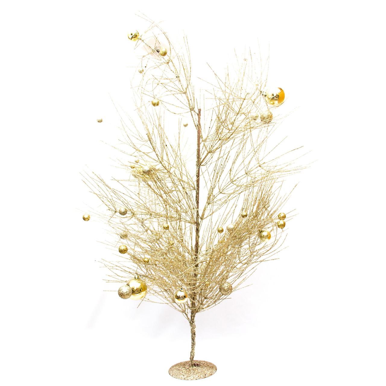 Дерево на подставке, 80см, золото (770069-2)