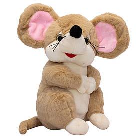 М'яка іграшка МИШКА, 22 см, коричнева (C1804814-2)