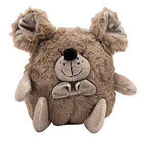 М'яка іграшка Задоволений ЩУР, 14 см, сіра (C1804814-2)