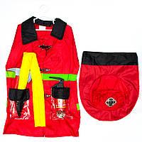Карнавальный игровой набор пожарного - 45x60 см, с аксессуарами (513047)