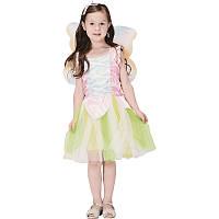Костюм детский карнавальный лесная фея, рост 110-120 см, белый (CC286B), фото 1