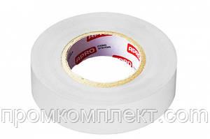 Ізолента 0,14ммх17ммх20м біла (універсальна) (упаковка — 10 шт.) APRO