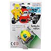 Игрушка инерционная - мышонок-гонщик Aohua, машинка в форме лимона, 4,5 см, пластик (MR-12C-1), фото 2