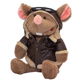 М'яка іграшка ЩУР -ПІЛОТ Символ 2020 Року, 23 см, коричневий.)