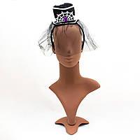 Карнавальная шляпа с обручем на Хэллоуин, 12,5*21 см (462636)