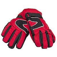 Детские перчатки, лыжные, красные 21см (517090), фото 1