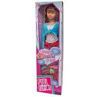 Ходячая Кукла классическая, 100 см, в красных штанах и с темными волосами (40005-3)