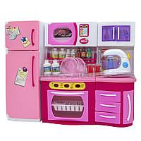 """Кукольная кухня """"Родной Дом""""-2, розовая, 37x11,5x28,5см (2803S), фото 1"""