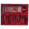 Хрустальный набор Neman посуды для вина в подарочной упаковке с тканью (10245/2), фото 2