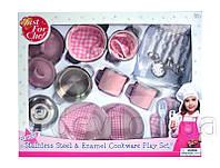 Набор посуды игровой Кухонный из нержавеющей стали, эмалированный, 26 ед. (CH2026SEM)