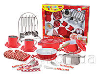 Набор посуды из нерж. Стали (CH51015-RED)