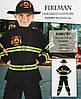 Костюм детский карнавальный пожарный, рост 92-104 см, черный (091014A), фото 3