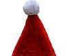 Новорічний карнавальний ковпак, 58-60 см, плюш, поліестер, червоний (460298), фото 3