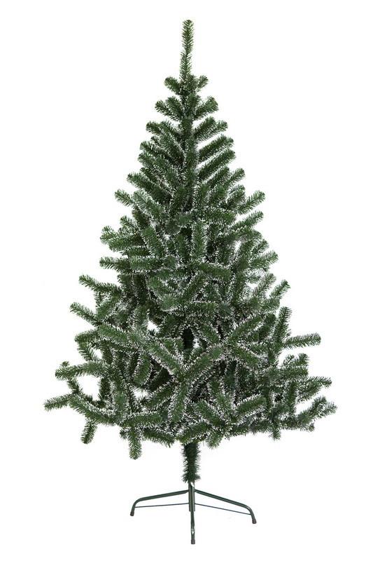Ялинка штучна, 150 см, Феліція-150, зелено-білий, (felicia-150)
