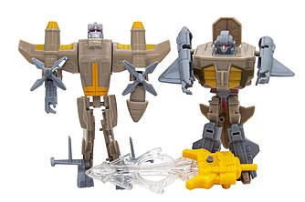 Набір армійських роботів зі світловим мечем, Коричневий (3927-1)