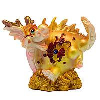 Фигурка сувенирная Дракон, хвост вверх, 7,7*4,8*8см (441259-2)