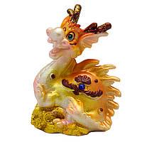 Фигурка сувенирная Дракон, передние лапы вверх, 7,7*4,8*8см (441259-3)