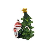 Фигурка сувенирная Дед Мороз с елкой справа (440528-2)