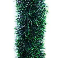 Мишура ГК-120/3, зелено-светло зеленый, (gk-120/3-2)