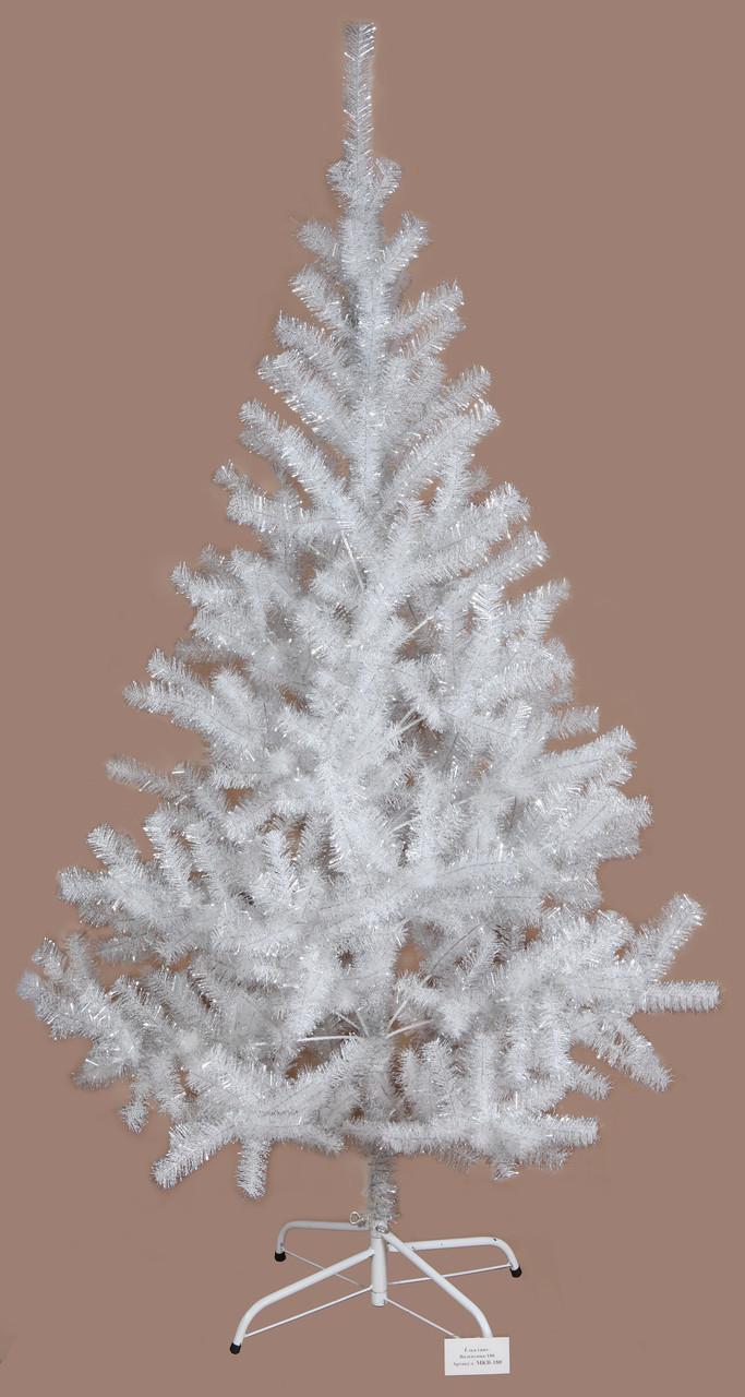 Ялинка штучна, 180 см, Валентина-180, прозоро-срібна, арт. МКВ-180