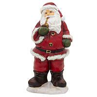 Фигурка сувенирная Дед мороз c трубкой (011766)