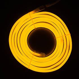 Светодиодная гирлянда неоновая гнущаяся трубка, 3 м, желтый, IP20 (950026)