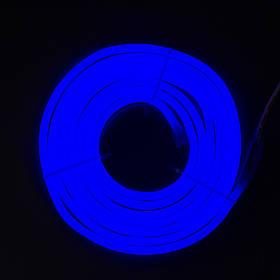 Светодиодная гирлянда неоновая гнущаяся трубка, 3 м, синий, IP20 (950033)