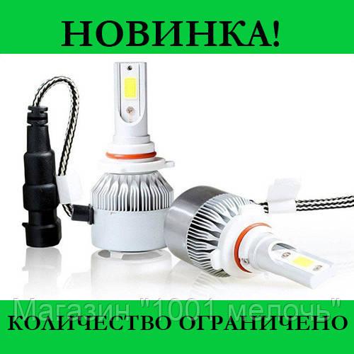 Комплект LED ламп C6 HB3/9005